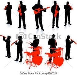 Musician clipart live band