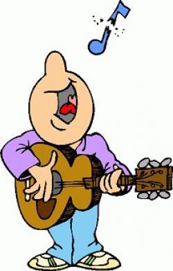 Singer clipart instrument