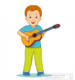 Musician clipart play guitar
