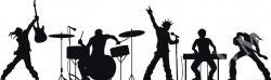 Musician clipart rock band