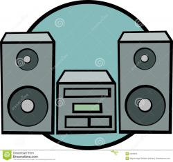 Musician clipart sound system