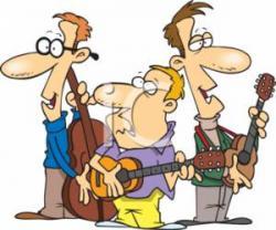 Musician clipart trio