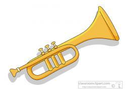 Brass clipart trumpet