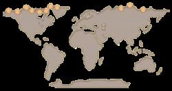 Muskox clipart treasure map