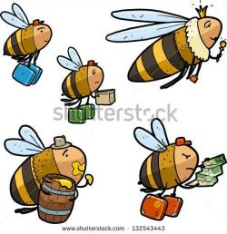 Pollination clipart worker bee