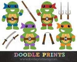 Ninja Turtles clipart teenage