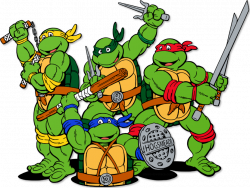 Ninja Turtles clipart cartoon