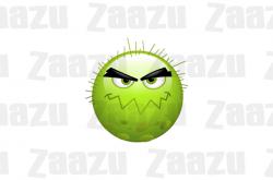 Mutant clipart virus
