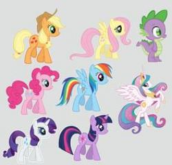 My Little Pony clipart digital