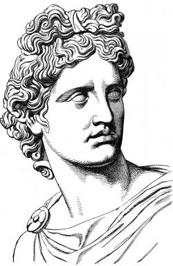 Achilles clipart greek myth