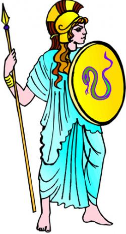 Goddess clipart greek person