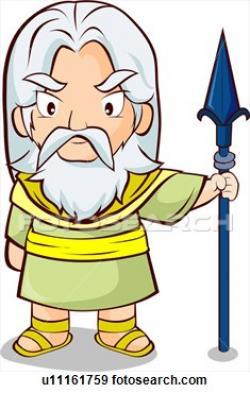Gods clipart greek mythology