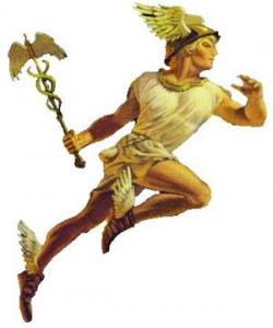 Mythology clipart hermes shoe