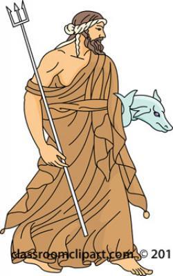 Zeus clipart neptune god - Pencil and in color zeus ...