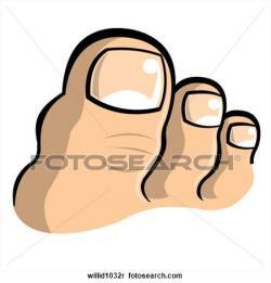Nails clipart big toe