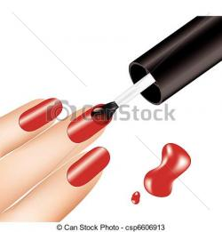 Poland clipart manicure