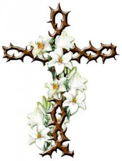 Deadth clipart beautiful cross