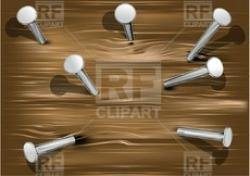 Nails clipart metal object
