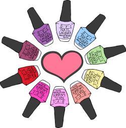 Nails clipart nail care