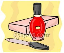 Nails clipart nail file