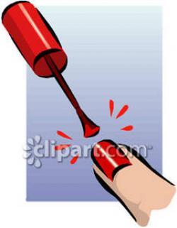Nails clipart painting nail