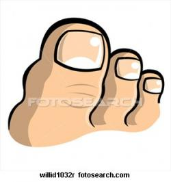 Nails clipart toe