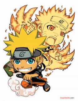 Naruto clipart kawaii chibi