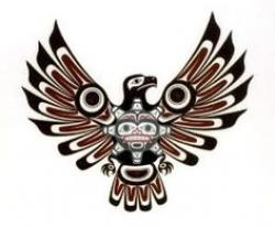 Native American clipart bird