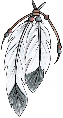 Aboriginal clipart indian feather