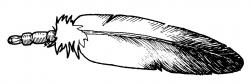 Aborigines clipart indian feather