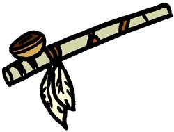 Native American clipart pipe