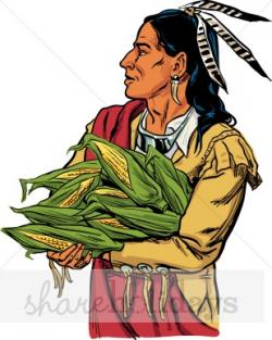 Harvest clipart native americans