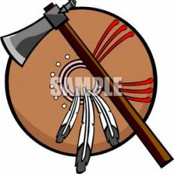 Native American clipart shield