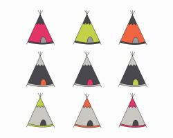 Triangle clipart tent