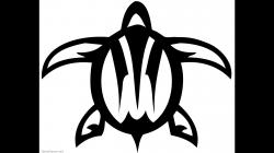 Tribal clipart turtle