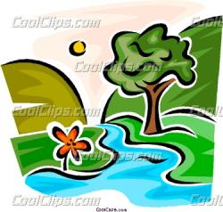 Stream clipart creek