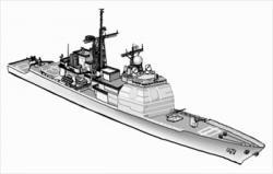 Battleship clipart cruiser