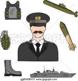 Uniform clipart armed force