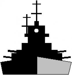 Ship clipart battleship
