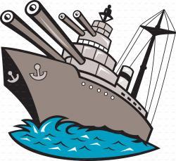 Battleship clipart game piece
