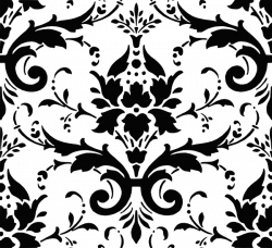 Damask clipart victorian