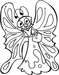 Nectar clipart coloring