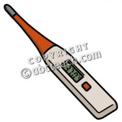 Needless clipart medical thermometer