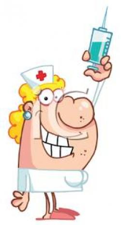 Nurse clipart nurse needle