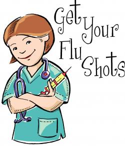 Here clipart flu season is