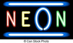Neon Sign clipart
