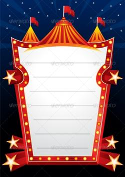 Neon Sign clipart circus