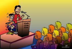 Fear clipart nervous speech