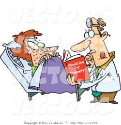 Sick clipart hospital patient