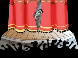 Fear clipart stage fright